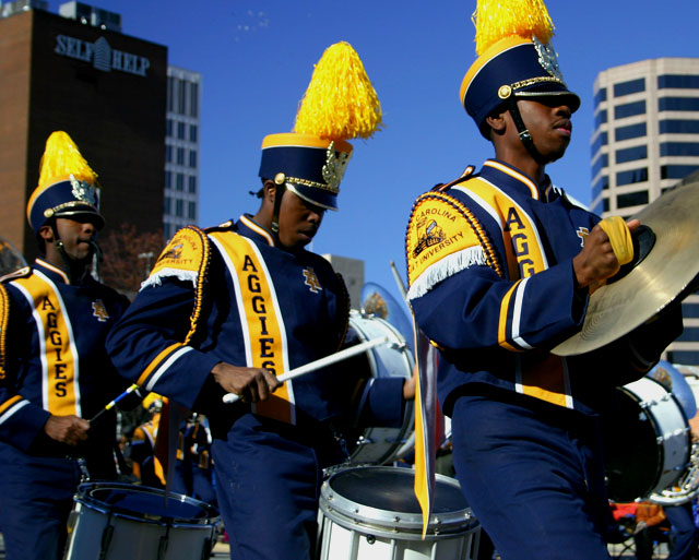 A Chicago marching band
